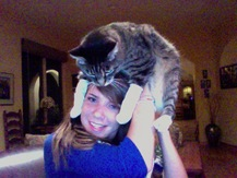 Cat on Dome - Lizzie H.