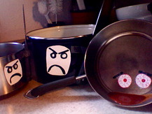 Saucepan with Googly Eyes - Billy L.