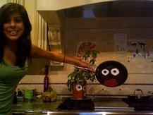 Saucepan with Googly Eyes - Diana G.