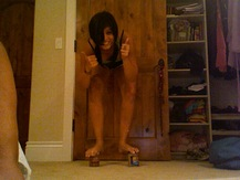 Peanut Butter Stilts - Diana G.