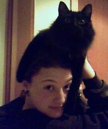 Cat on Head - Laura N.