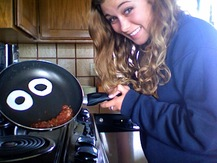 Saucepan with Googly Eyes - Sydney S.
