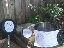 Saucepan with Googly Eyes - Shannon S.