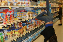 Handstand in the Cereal Aisle - Lizzie H.