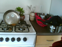 Saucepan with Googly Eyes - Dylan E.