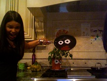 Saucepan with Googly Eyes - Marisa A.