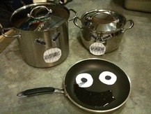 Saucepan with Googly Eyes - Alex W.