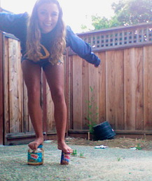 Peanut Butter Stilts - Sydney S.